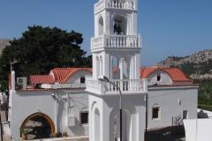 nowy klasztor Tsampika Τσαμπίκα παναγιά Εκκλησία Τσαμπίκας
