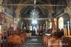 wnętrze nowego klasztoru