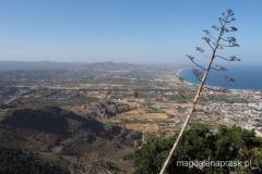 widok z klasztornego wzgórza