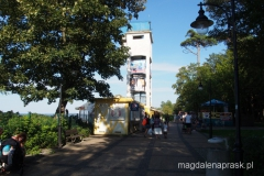 wieża widokowa na promenadzie