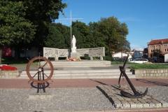 pomnik za tych co zostali na morzu
