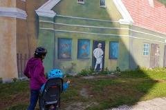 Śródka - trójwymiarowy mural