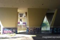 murale pod Mostem Przemysława I