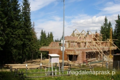 schronisko na Markowych Szczawinach rozbudowuje się - buduje się nowy obiekt