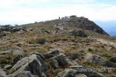 Babia Góra w oddali - zdobywam drugi raz szczyt w tym samym dniu