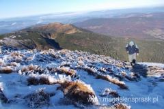 dojście na szczyt; ostatnie metry podejścia