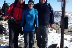 z Pitrem i Jackiem na szczycie Babiej Góry