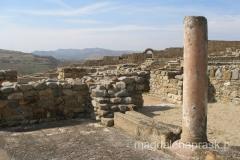 wśród odkrytych obiektów są: budynki sakralne, spiżarnie oraz łaźnie