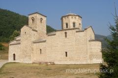 cerkiew św. Jerzego w klasztorze Monastyr Djurdjevi Stupovi