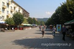 deptak w centrum Berane