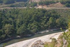 Berane jest pięknie położone pośród zalesionych wzgórz