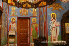 Monastyr Siudikovo - freski zostały namalowane niedawno
