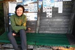 urocza chatka pod szczytem Klimczokaf
