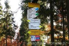 ostatni zdobyty szczyt :-) Trzy Kopce Wiślańskie 803m npm