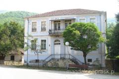 piękny, stary dom we wsi Ljubojno