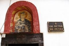 nad wejściem do monastyru św. Petki jest piękna ikona