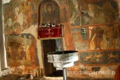 monastyr św. Petki jest pięknie zdobiony freskami