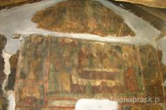 pięknie zamalowane wnętrze cerkwii