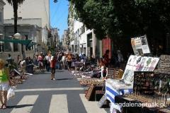 targ staroci w dzielnicy San Telmo