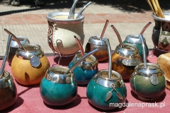kolorowe naczynka do parzenia i picia yerba mate