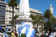 na Plaza de Mayo