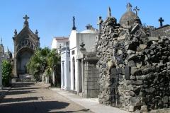 zabytkowy cmentarz Recoleta - powstał w 1822r