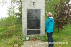 pomik pamięci pomordowanym w 1944r. mieszkańców wsi Jamna