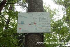 w okolicy Jamna znajduje się kilka szlaków turystycznych
