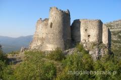 ruiny twierdzy tureckiej