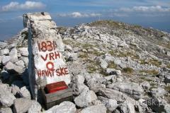 szczyt Dinara 1.831m npm - najwyższa góra Chorwacji