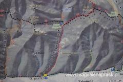 mapka informacyjna naszej trasy