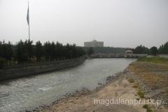 Duszanbinka - rzeka przepływająca przez Duszanbe