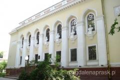 przy ulicy Rudaki usytuowane są reprezentacyjne budynki miasta