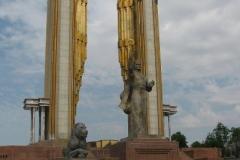 pomnik Ismaila Somoni