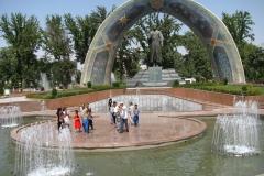 pomnik poety perskiego: Rudaki