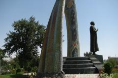 pomnik perskiego poety Rudaki