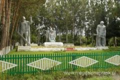 ten komunistyczny pomnik ku czci bohaterów zrobił na nas duże wrażenie, swoją ... wielkością; jest potężny i bardzo smutny