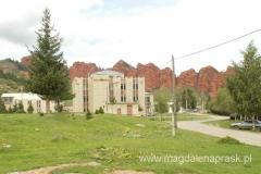 hotel, w którym w 1991r. spotkał się Jelcyn z ówczesnym prezydentem Kirgistanu Askarem Akaer