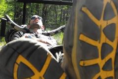 odpoczynek w trakcie trekingu