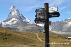 Alpy szwajcarskie - Matternhorn