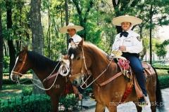 Meksyk - konna policja w Mexico City