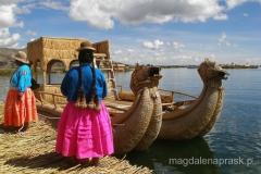 Peru - wyspy Uros