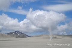 Chile - Puyehue - trąba powietrzna
