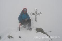 na Gerlachu - najwyższym szczycie Karpat, Tatr i Słowacji