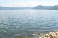 rzeka Dunaj - szeroka na 7 km przypomina raczej jezioro