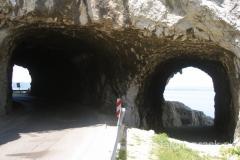 dwa tunele, dwie drogi - lądowa i rzeczna