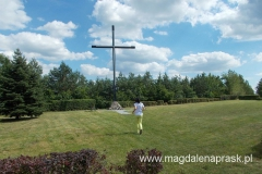 """""""punkt widokowy przy krzyżu"""" okazał się miejscem bez widoków - ale krzyż jest!"""