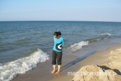 okolice Helu - spacer brzegiem Morza Bałtyckiego
