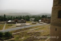 widok z murów twierdzy