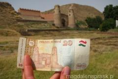 twierdza w Hissor została uwieczniona na banknocie 20 somoni